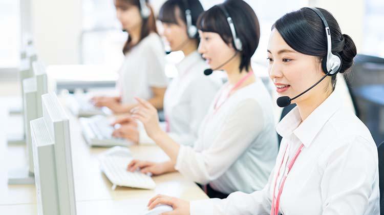 安心の電話サポート